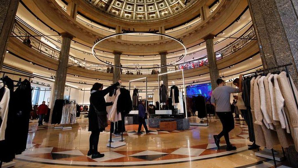 Inditex reabre este jueves sus tiendas de menos de 400 metros con cita previa