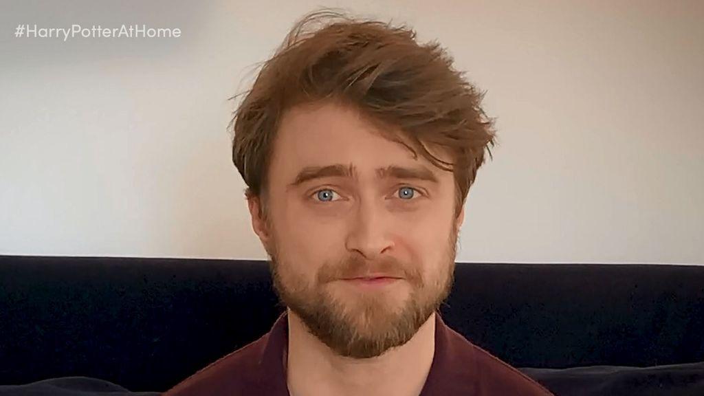 Daniel Radcliffe vuelve a meterse en la piel de Harry Potter durante la cuarentena