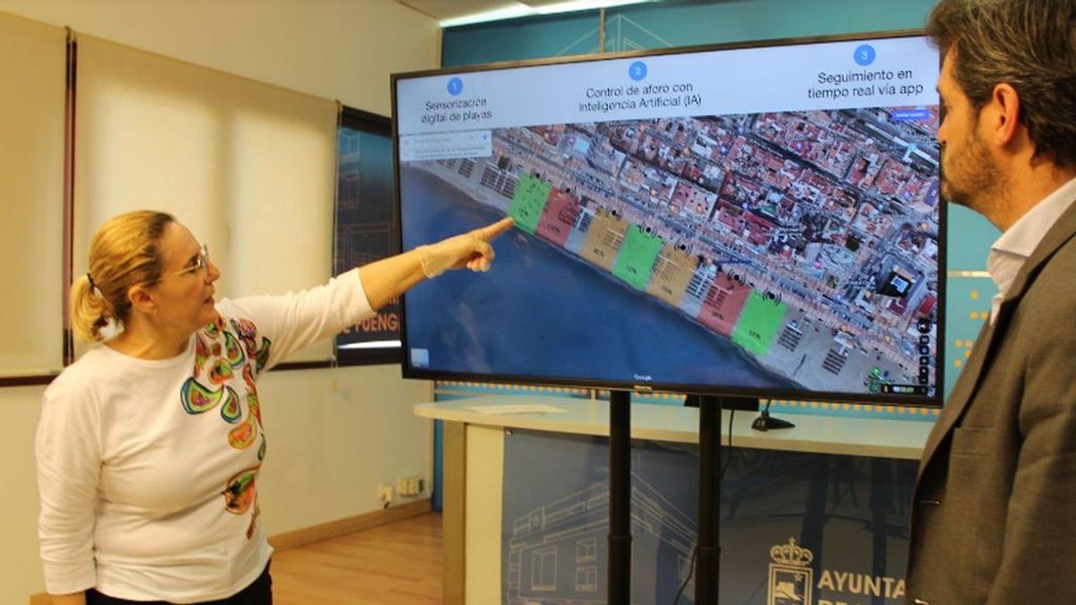 Crean un sistema virtual para conocer el aforo de las playas a través del móvil