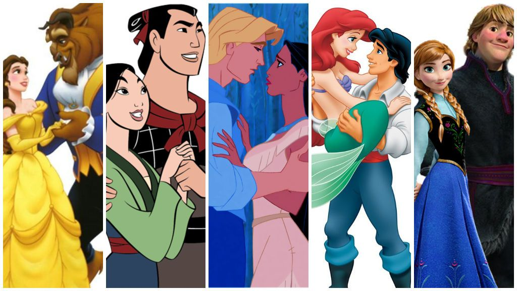 Descubre qué pareja de Disney sois tú y tu chico.