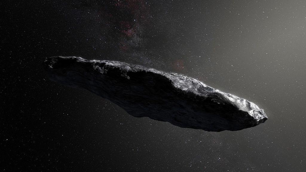 Los misterios de Oumuamua, el objeto que surca el espacio