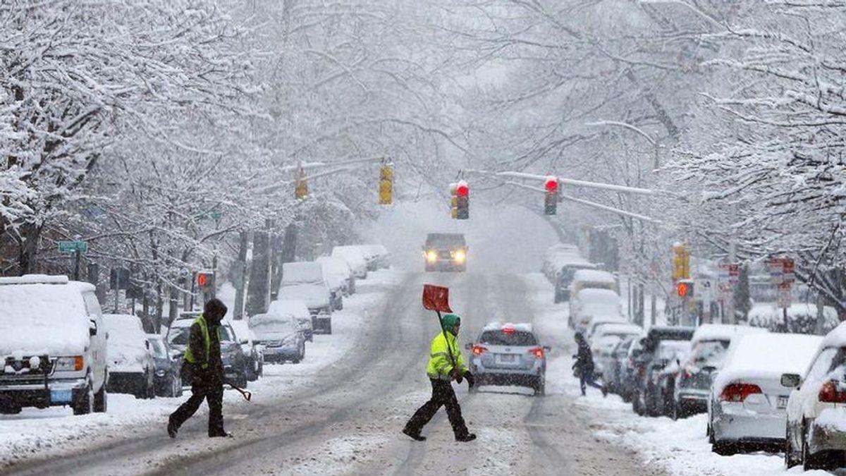 Una tormenta de nieve y temperaturas bajo cero afectarán el noreste de EEUU este fin de semana