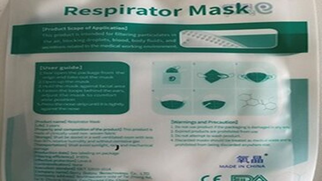 Garry Galaxy Respirator Mask N95