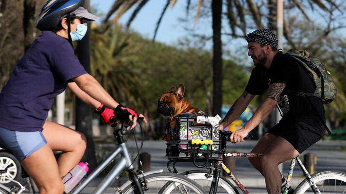 Bicicletas, motos y patinetes piden paso en el nuevo escenario urbano