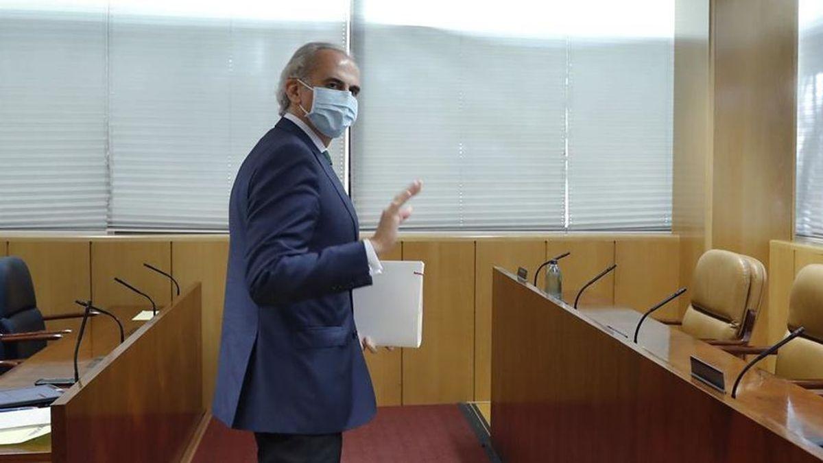 El consejero de Sanidad de Madrid , Enrique Ruiz Escudero