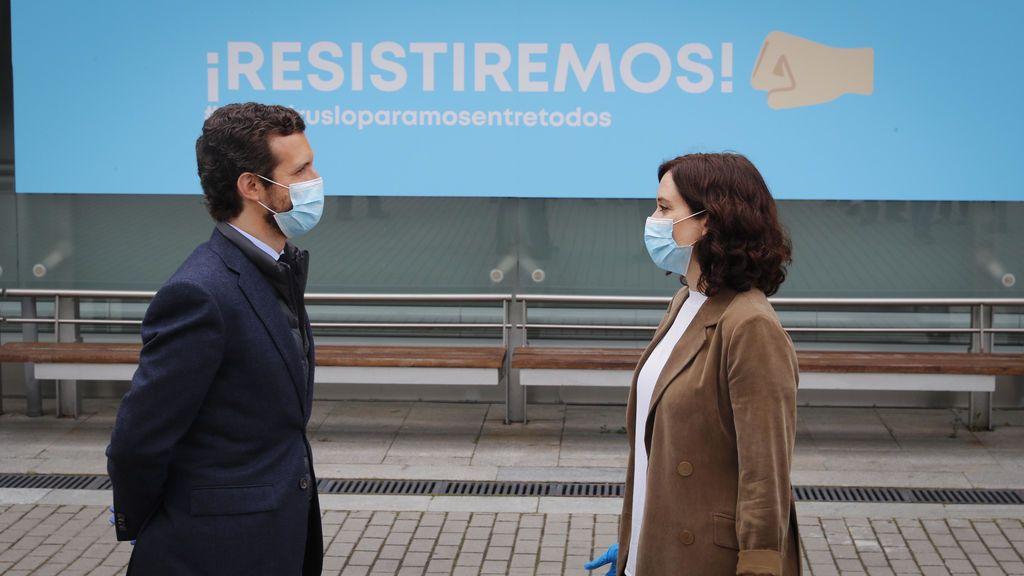 El laboratorio de las políticas de Casado en Madrid naufraga tras los últimos traspies de Ayuso