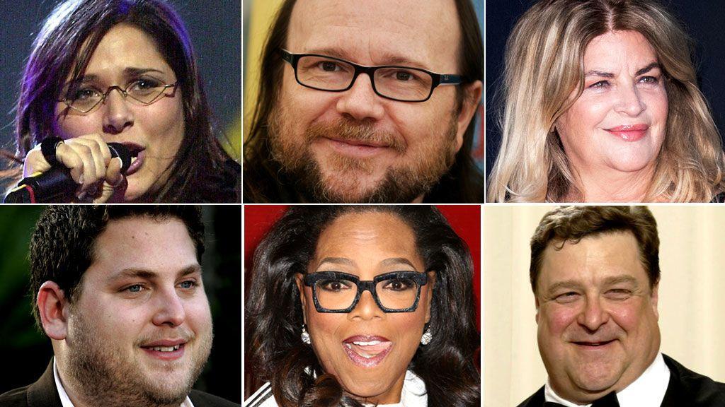La eterna lucha con la báscula de los famosos: 10 casos admirables