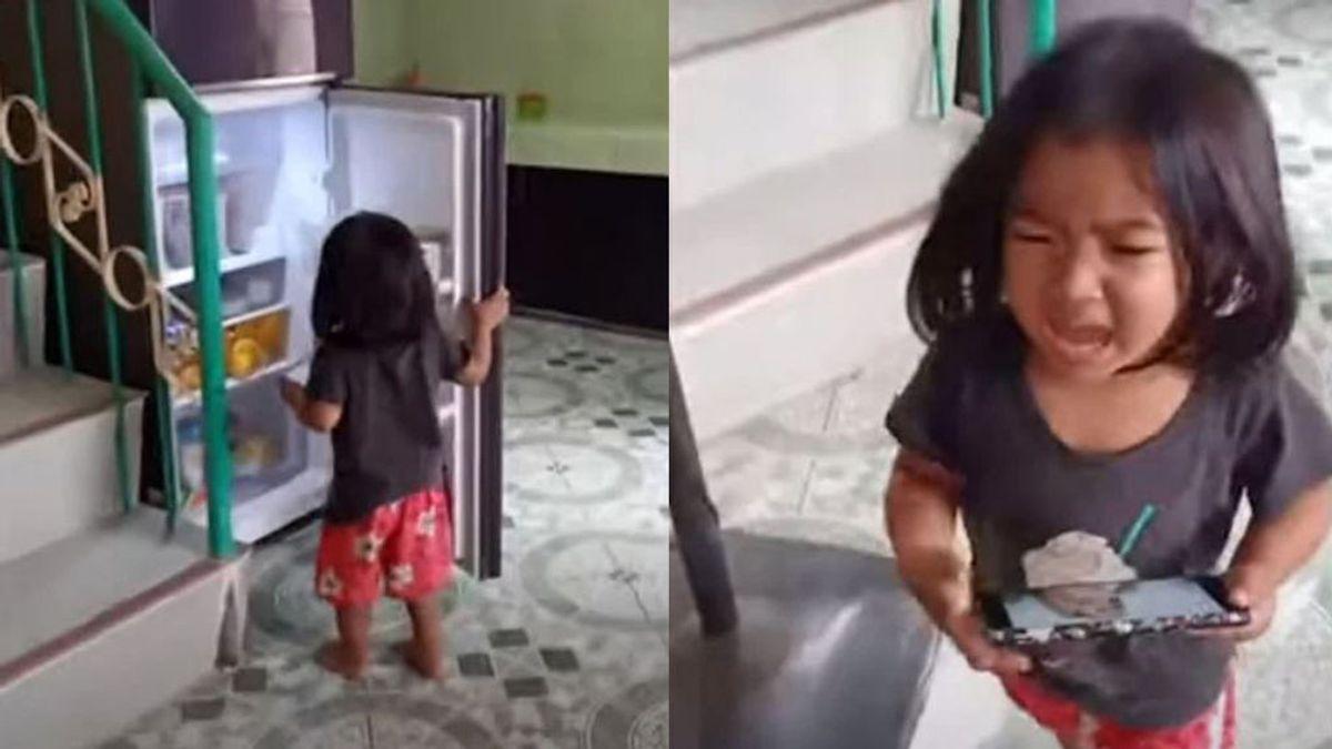 En tiempos de confinamiento, una madre inventa un método para que sus hijos dejen de abrir el frigorífico: redecora el interior