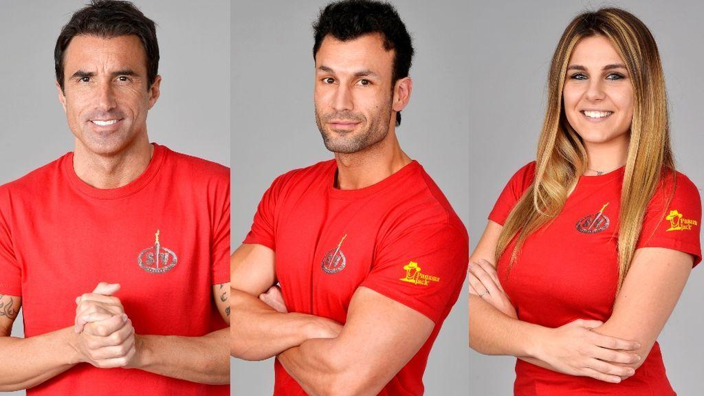 Hugo, Jorge e Ivana, nominados de 'Supervivientes 2020'