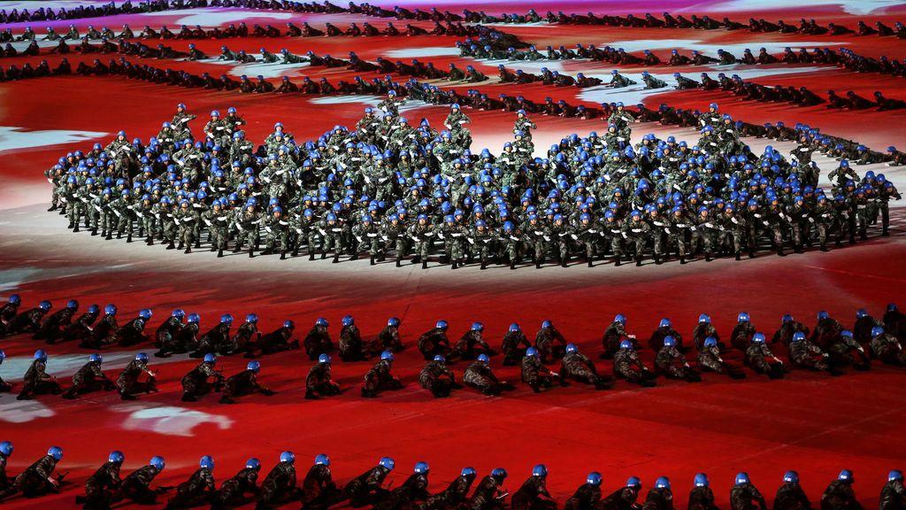 Ceremonía de los Juegos Mundiales Militares de Wuhan en octubre