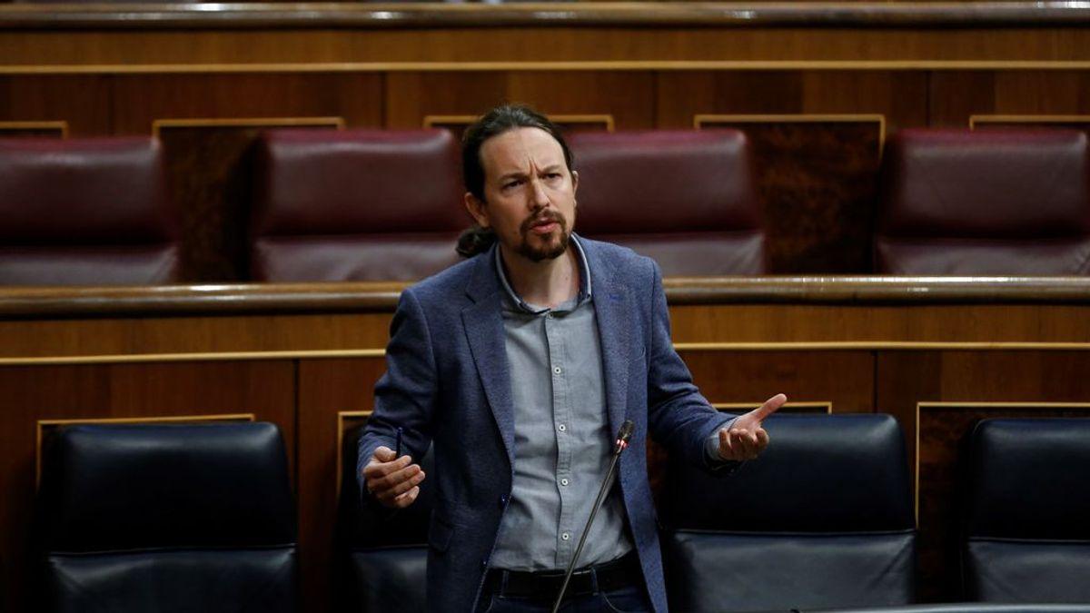 """Pablo Iglesias acusa a la presidenta madrileña, Isabel Díaz Ayuso de """"jugar con vidas"""" para hacer política"""