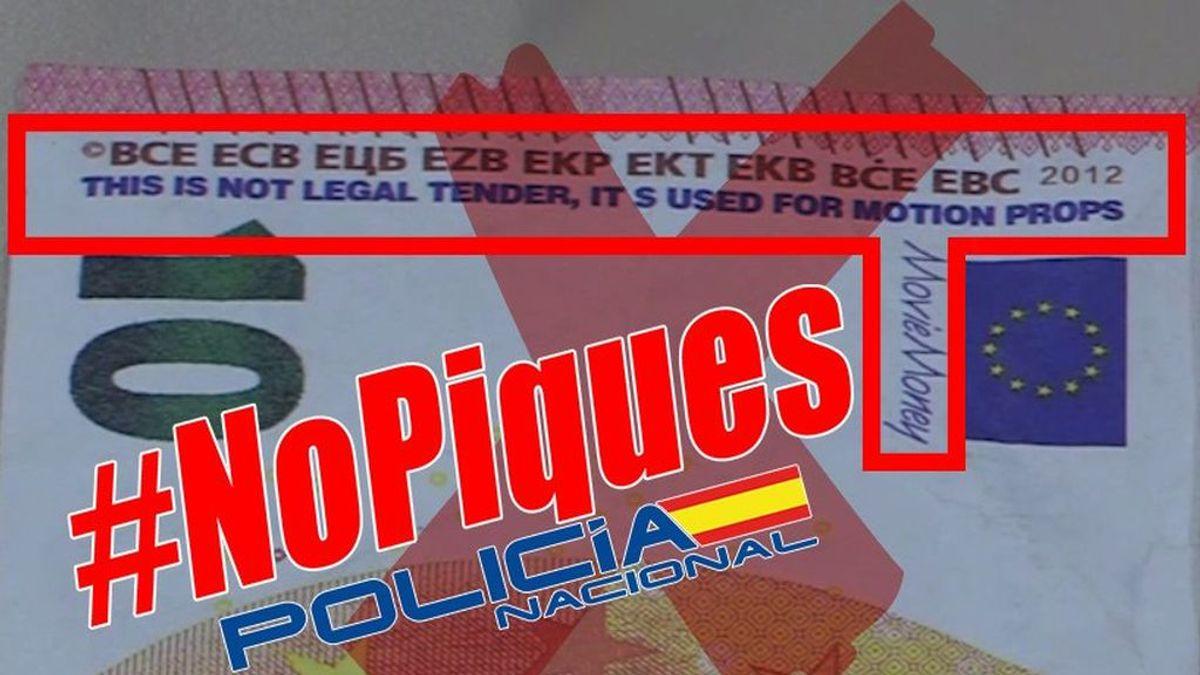 El vídeo de la Policía Nacional para ayudar a identificar billetes falsos que circulan en toda España