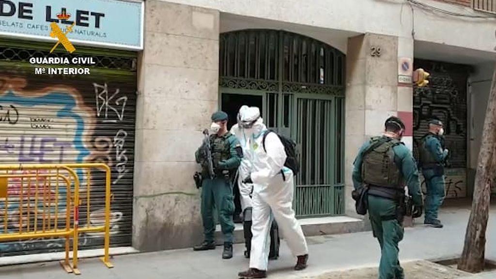 La Guardia Civil detiene a un lobo solitario del DAESH en Barcelona