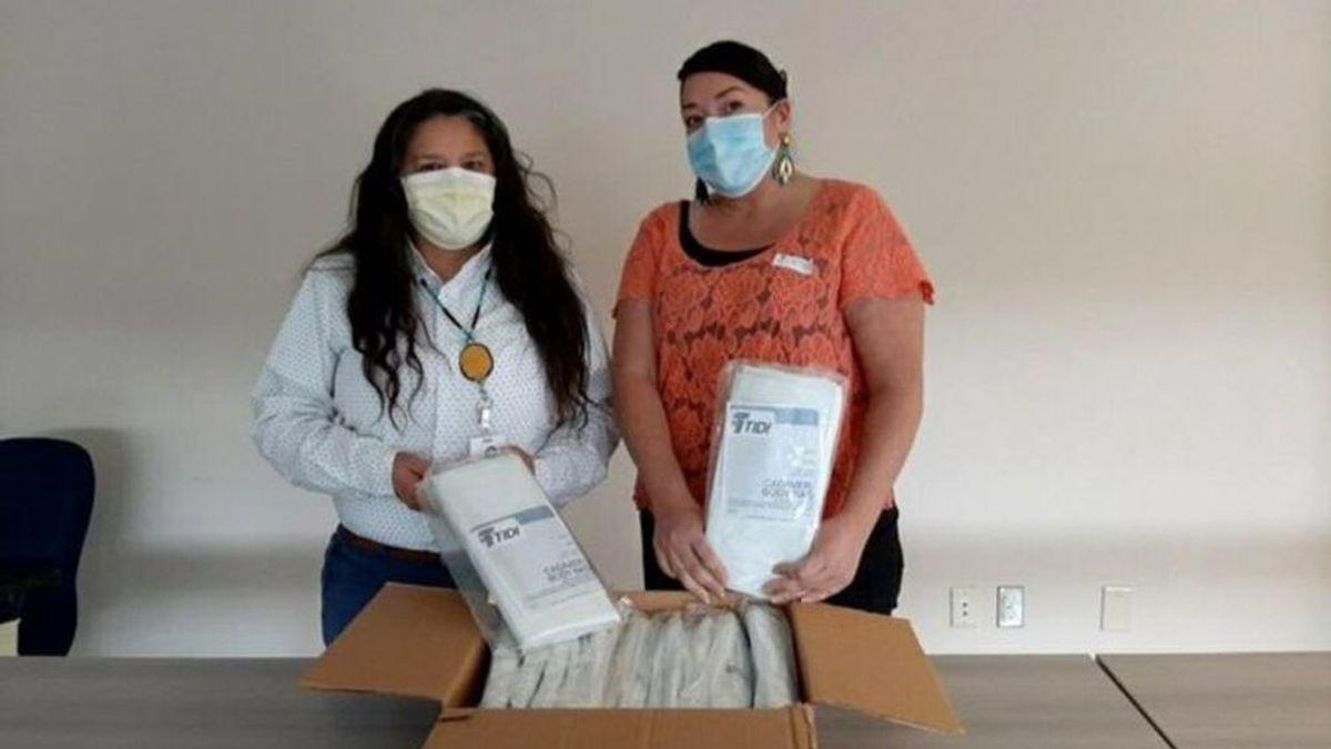 Reciben bolsas para cadáveres en vez de test de detección del coronavirus