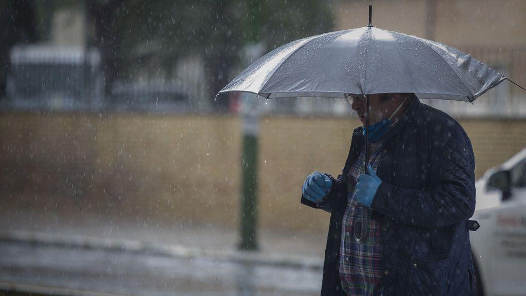 Lluvias, tormentas y granizo afectarán a toda la península este fin de semana