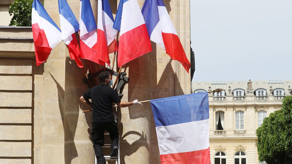 Francia, partida en dos: zona roja y verde ante la desescalada