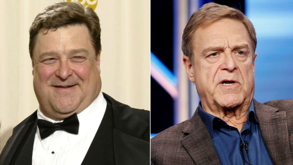 El antes y el después de John Goodman (2002 - 2020)