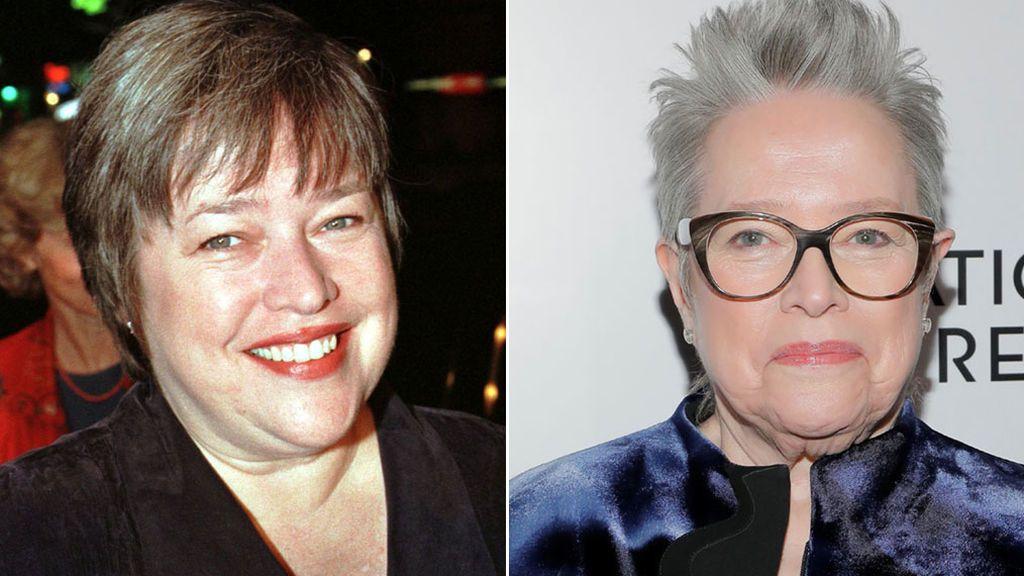 El antes y el después de Kathy Bates (1997-2020)