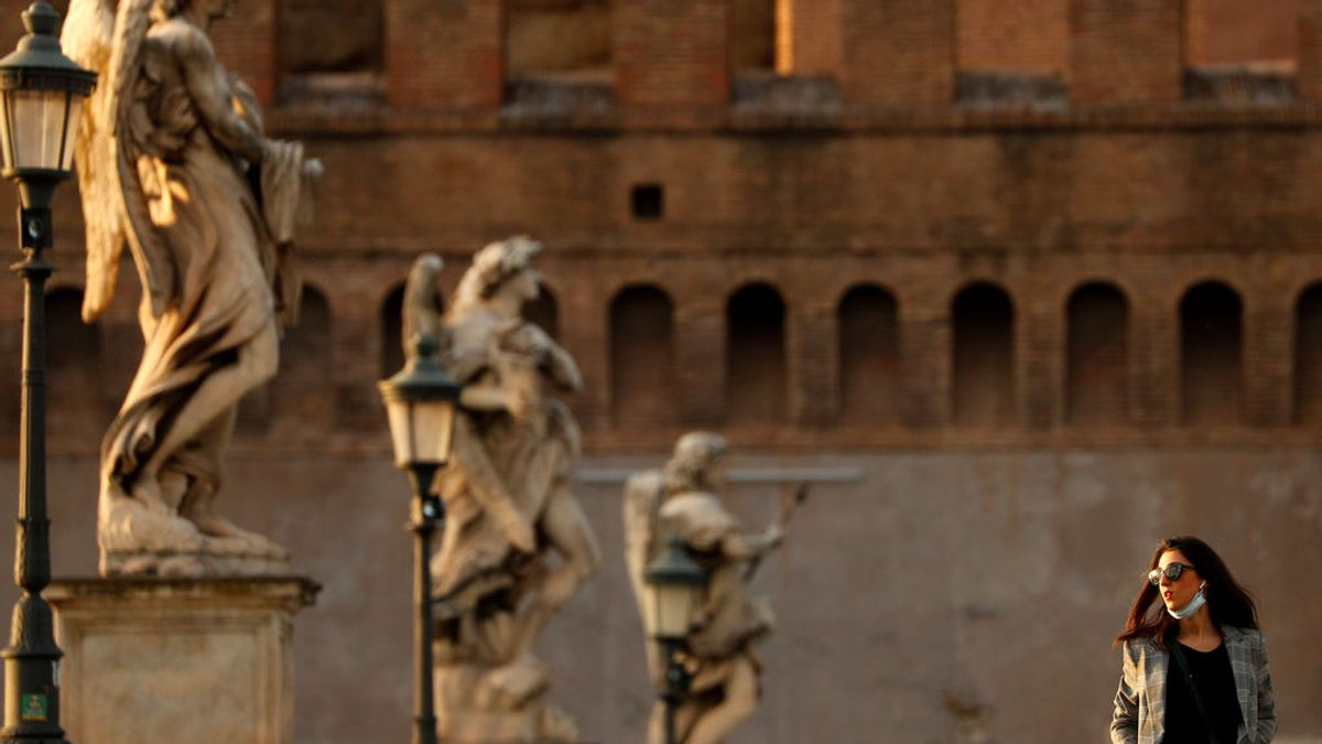 Italia logra bajar de nuevo de los 200 muertos diarios por coronavirus