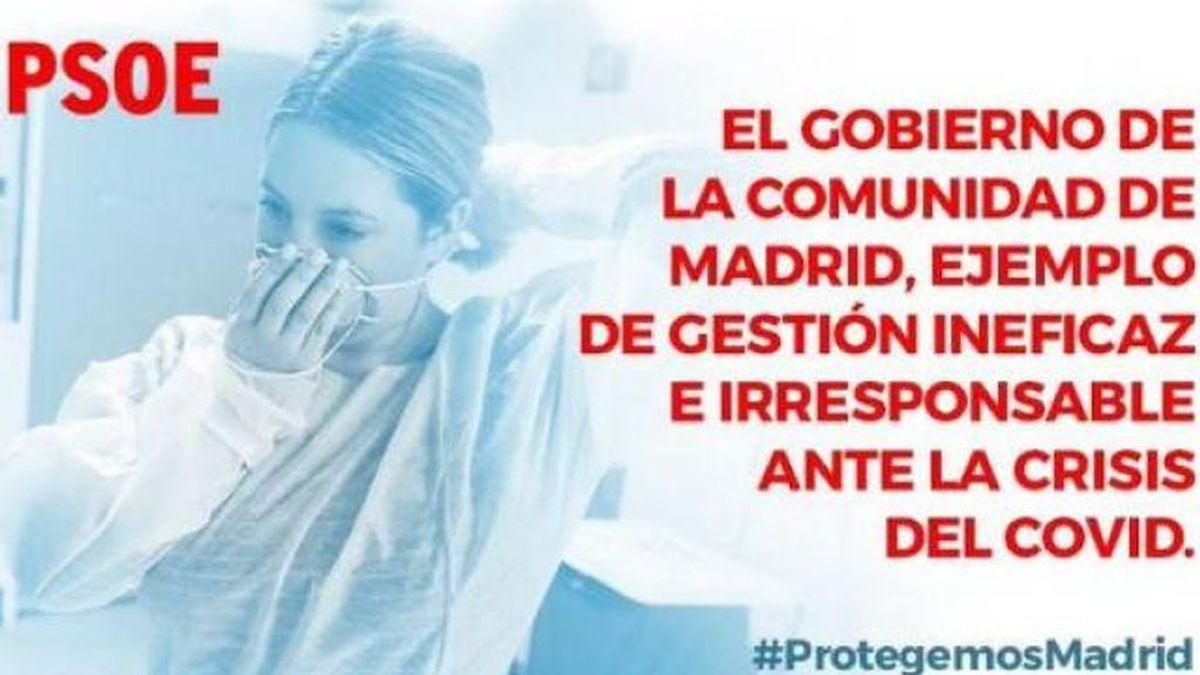 """Sánchez, sobre el tuit del PSOE que descalifica la gestión de la Comunidad de Madrid: """"No tenía conocimiento"""""""