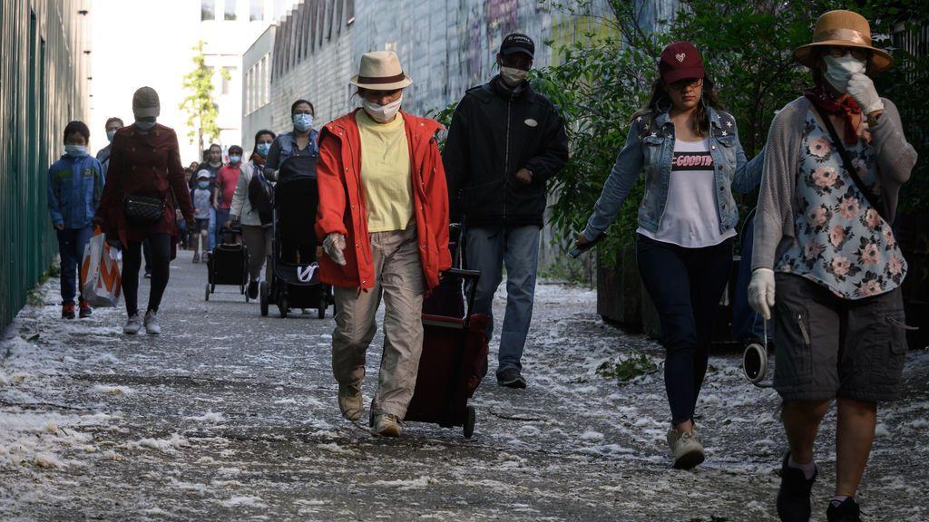 El coronavirus revela la pobreza en la lujosa ciudad del dinero secreto