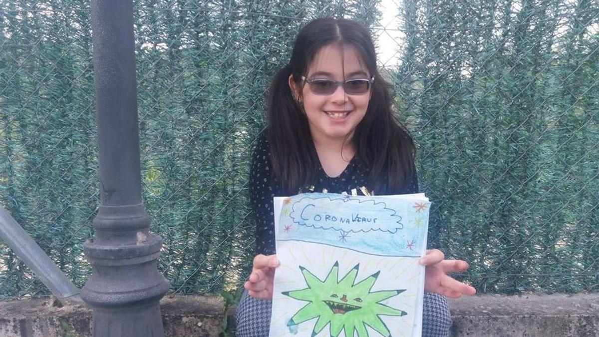 """El cuento de una niña de 8 años sobre el coronavirus: """"La Tierra obligó al mundo a deterse"""""""