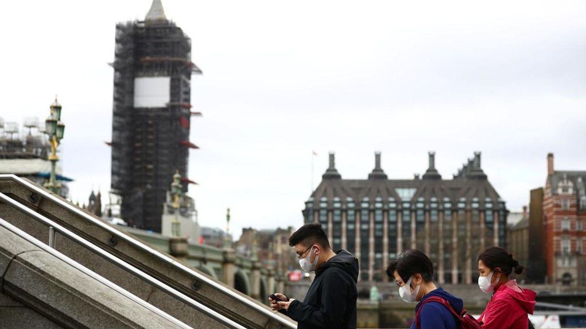 Reino Unido prosigue la lenta caída de muertos por coronavirus: 346 en las últimas 24 horas