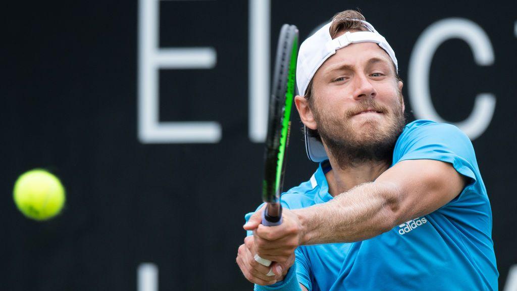El tenista francés Lucas Pouille