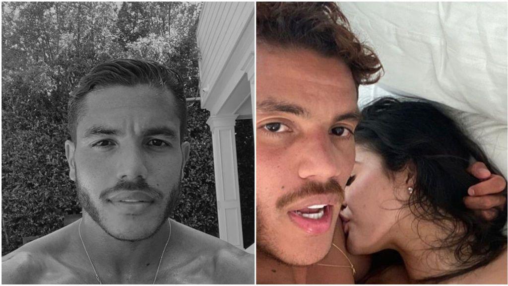 El descuido de Jonathan Dos Santos en redes sociales: se muestra en la cama con una mujer desnuda