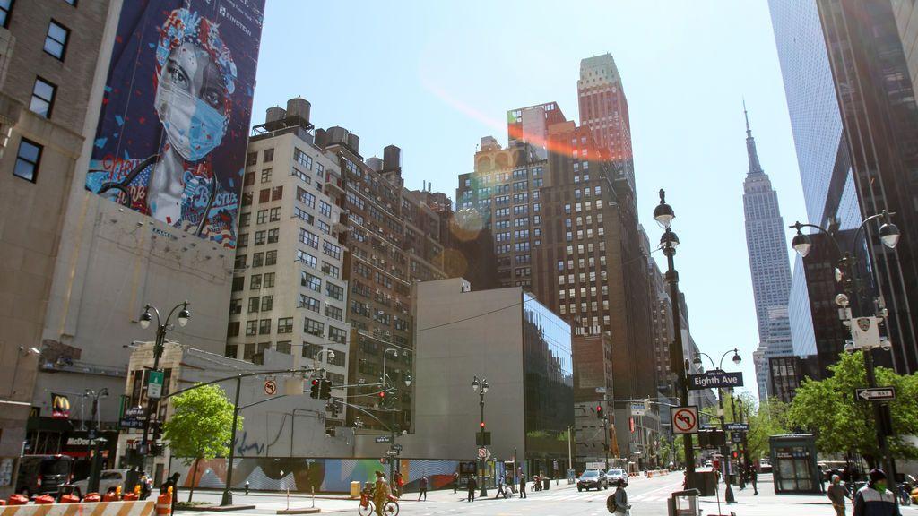 Mural en un edificio de Nueva York