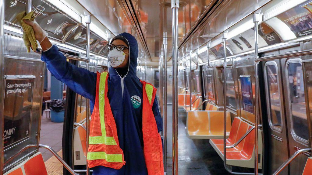 El coronavirus se ceba con los empleados del transporte público de Nueva York: 100 muertos y 4.000 contagiados