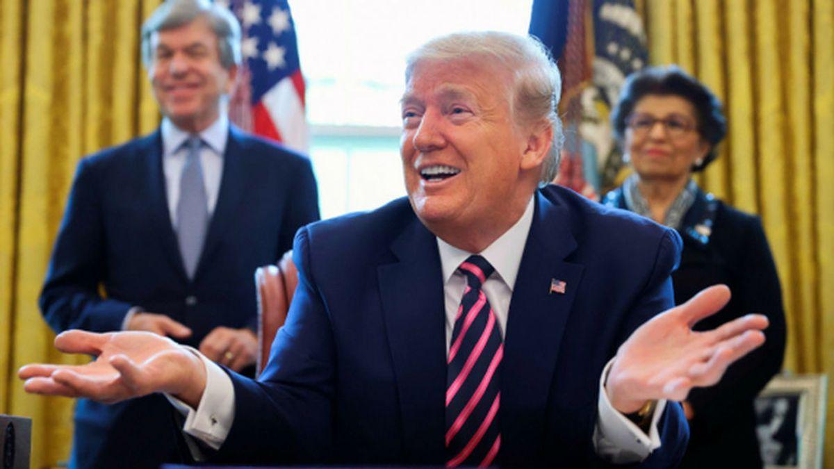 Trump, convencido de que el coronavirus terminará desapareciendo sin necesidad de vacuna