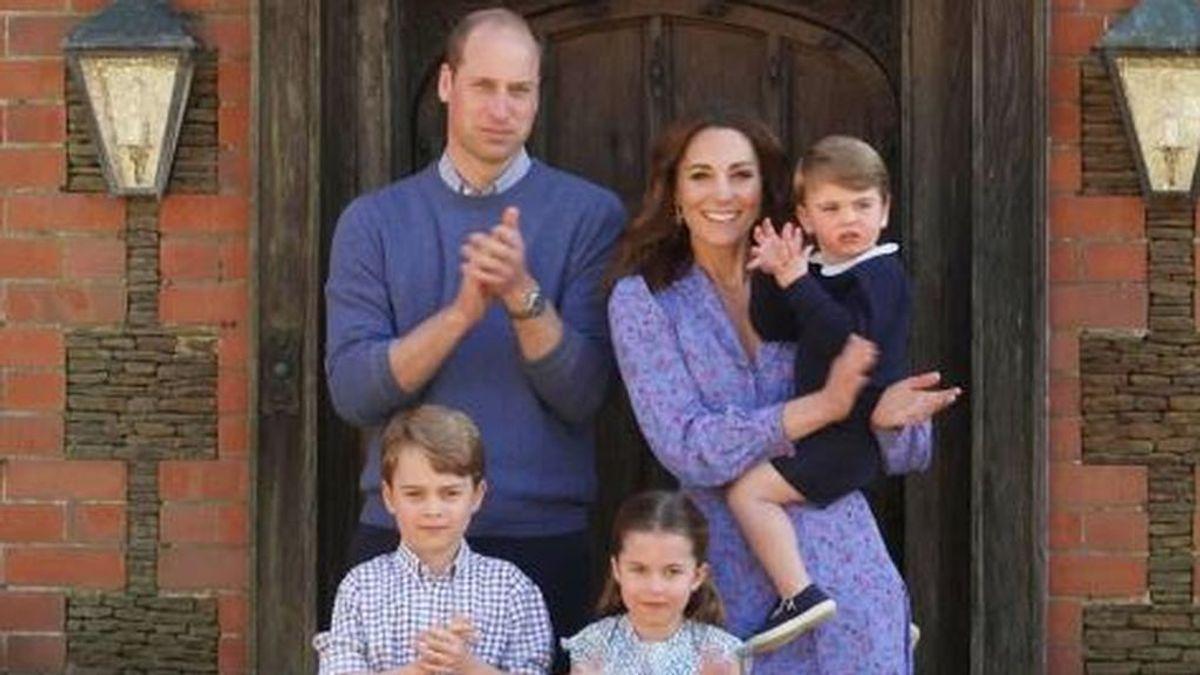 Kate Middleton y el Príncipe Guillermo mandan un mensaje cambiando su foto de perfil en redes sociales
