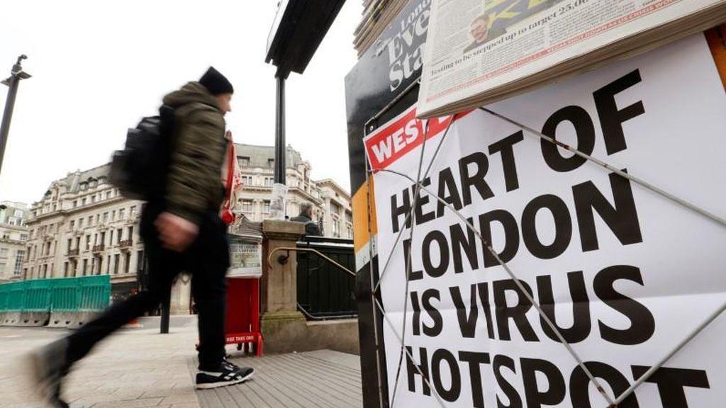El coronavirus podría provocar 700.000 muertos en Reino Unido, más que la Segunda Guerra Mundial