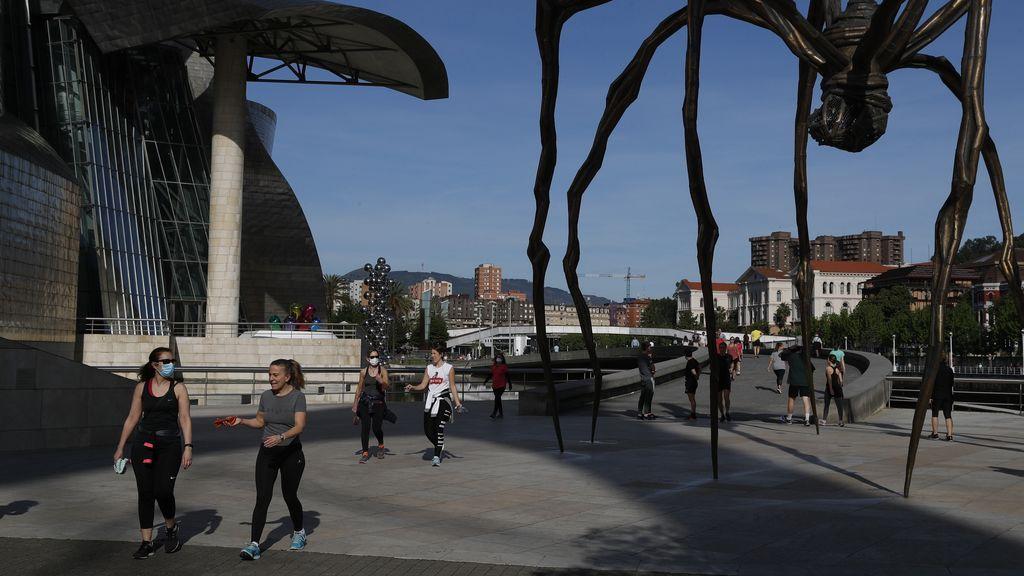El desplazamiento entre provincias sí está permitido en el País Vasco durante la fase 1