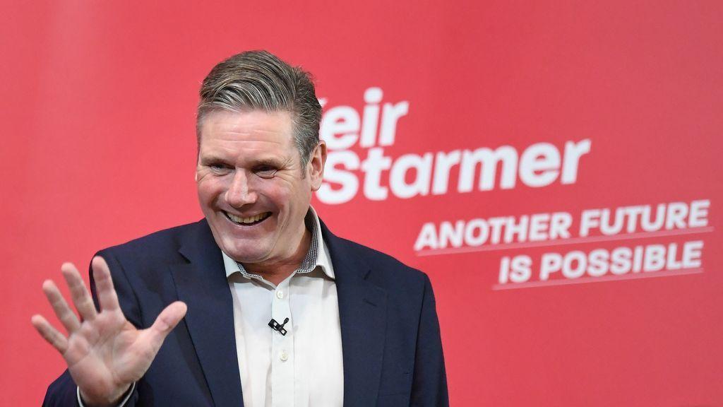 El líder del Partido Laborista, Keir Starmer