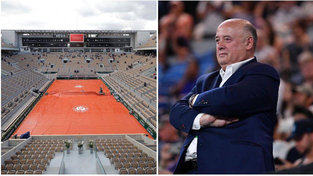 """El coronavirus podría hacer que Roland Garros se jugara a puerta cerrada: """"No descartamos ninguna opción"""""""