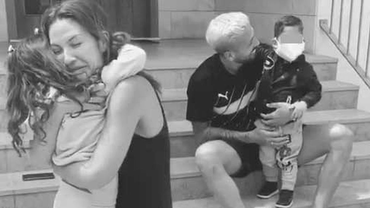 """Tamara Gorro se reencuentra con sus hijos tras dos meses separados: """"He pasado miedo, incertidumbre y angustia"""""""