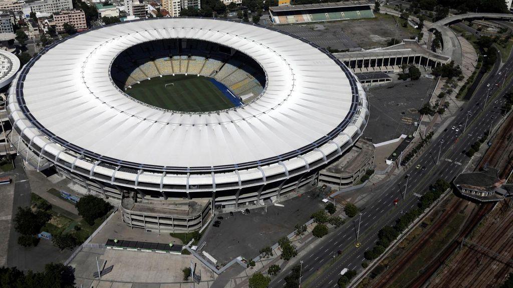 Inauguran en el mítico estadio Maracaná un hospital de campaña para pacientes con COVID-19
