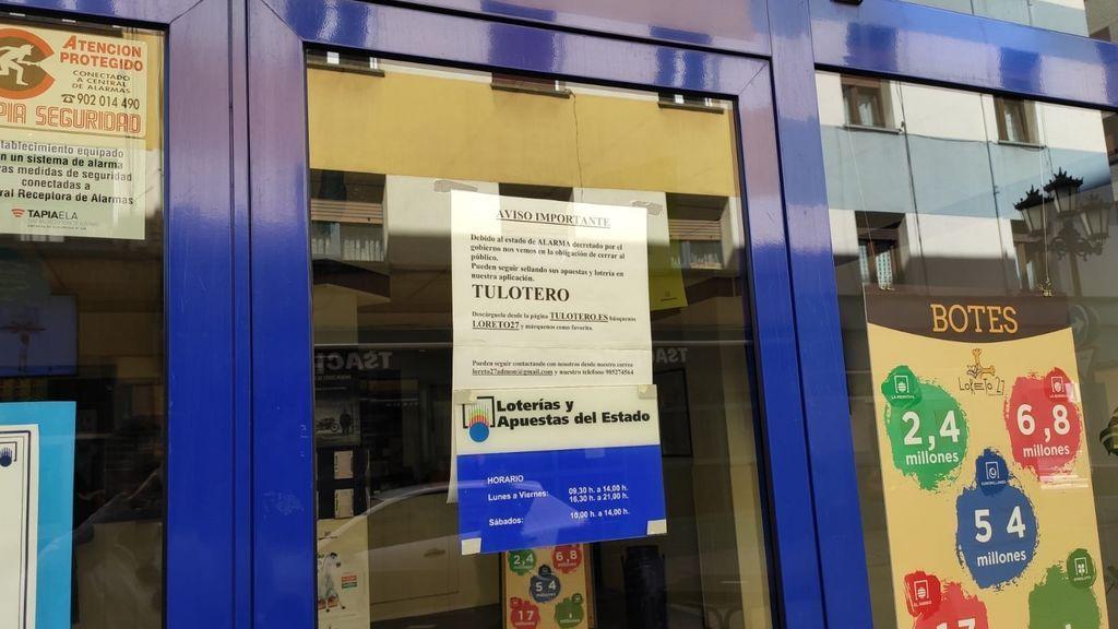 """Las administraciones de lotería no abrirán antes del 18 de mayo: """"Necesitamos un permiso que aún no tenemos"""""""
