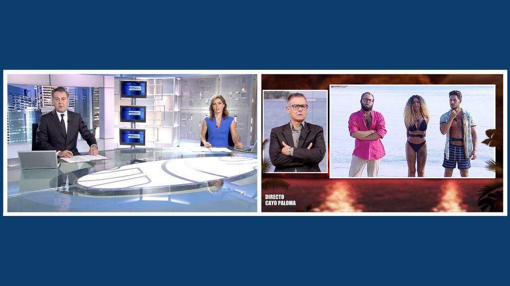 'Supervivientes', con nuevo récord histórico, e Informativos Telecinco 21:00 horas, emisiones más vistas del fin de semana