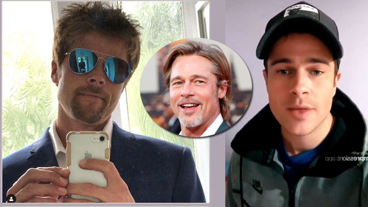 Brad Pitt y sus dobles en la red