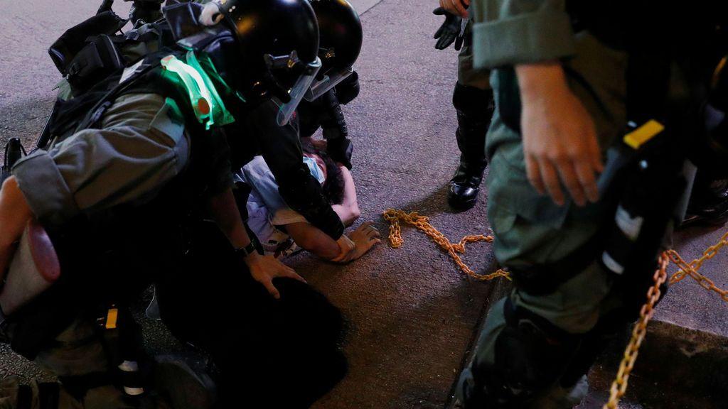 Detenciones en Hong Kong