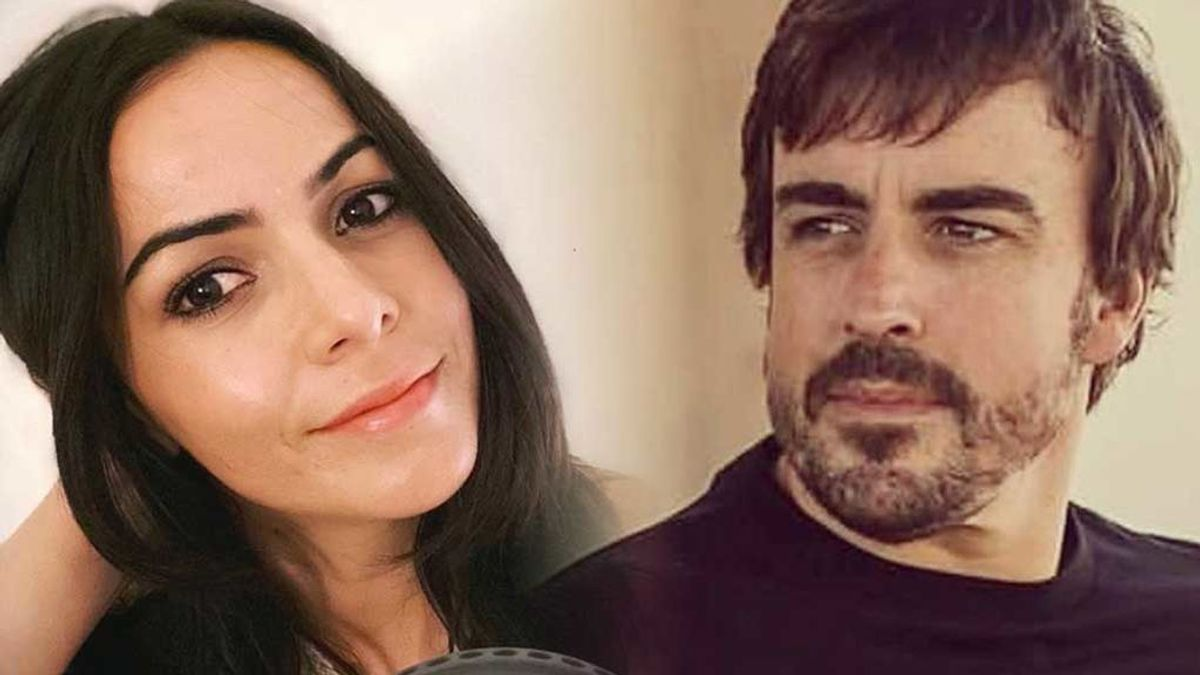 Fernando Alonso felicita públicamente al hijo de Raquel del Rosario