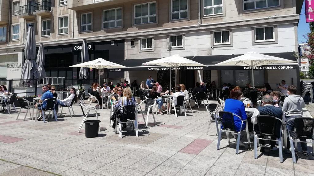 Terraza en A Coruña