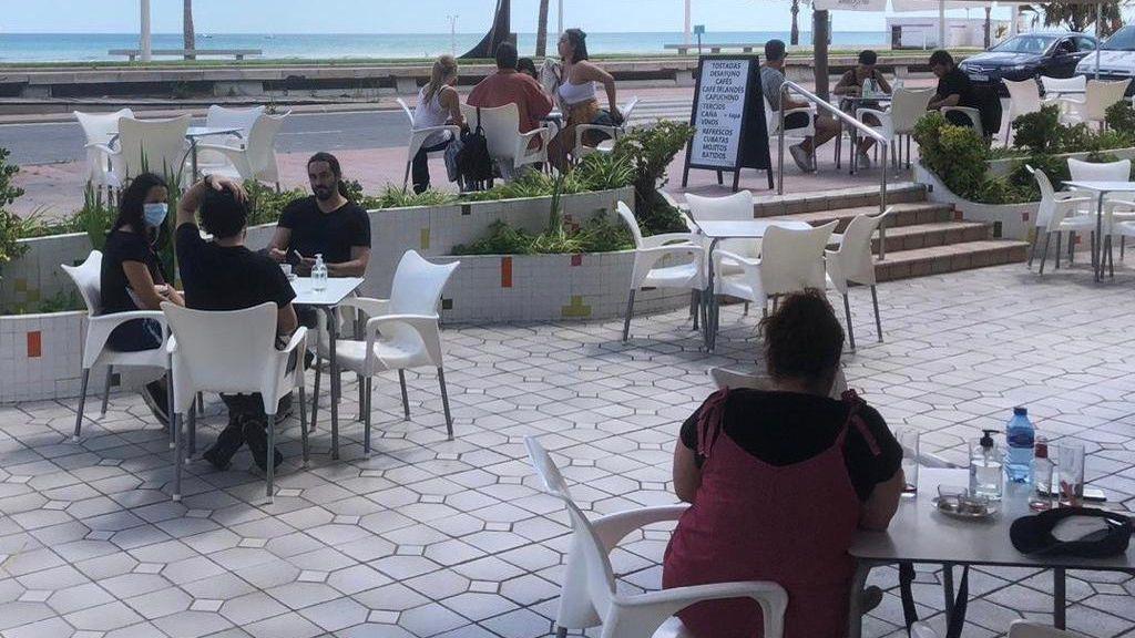 Terraza Gandía playa