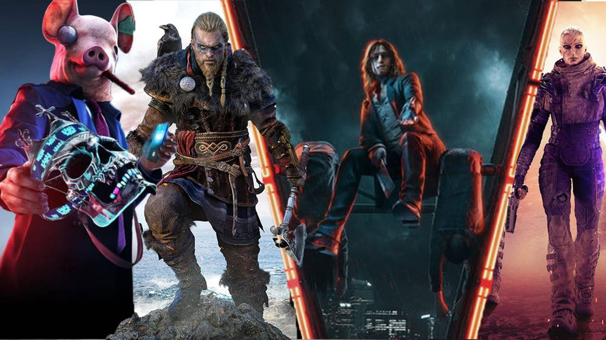Watch Dogs Legion, Assassin's Creed Valhalla, Vampire the Masquerade Bloodlines 2 y Outriders