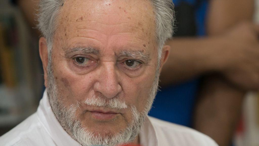 Julio Anguita, excoordinador general de Izquierda Unida