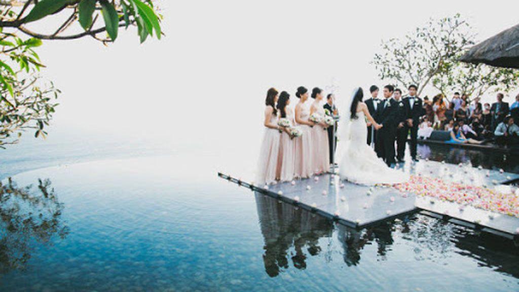 Podéis decantaros por una boda en el extranjero.