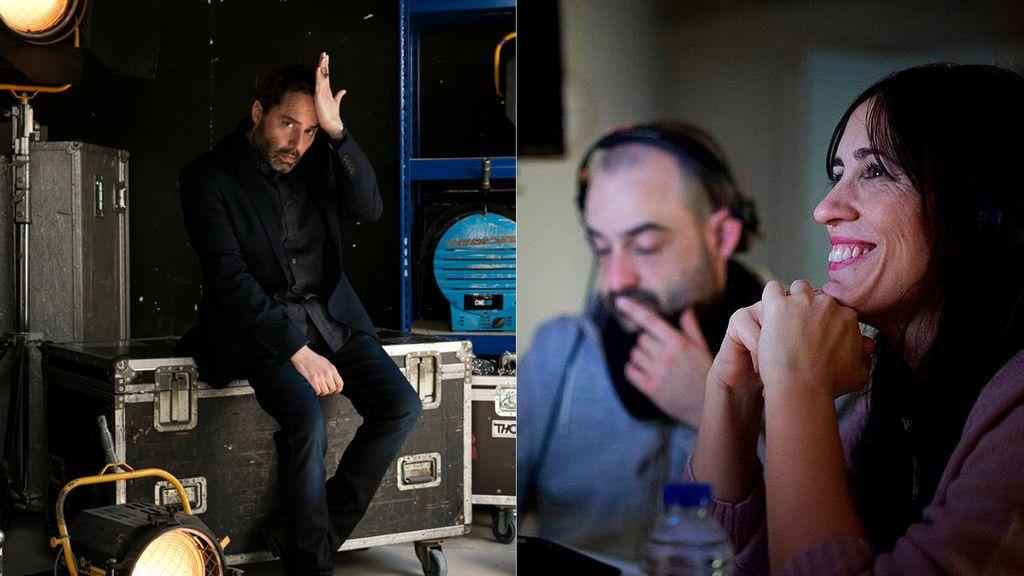Aitor Gabilondo y Juana Macías, productor ejecutivo y directora del videoclip.